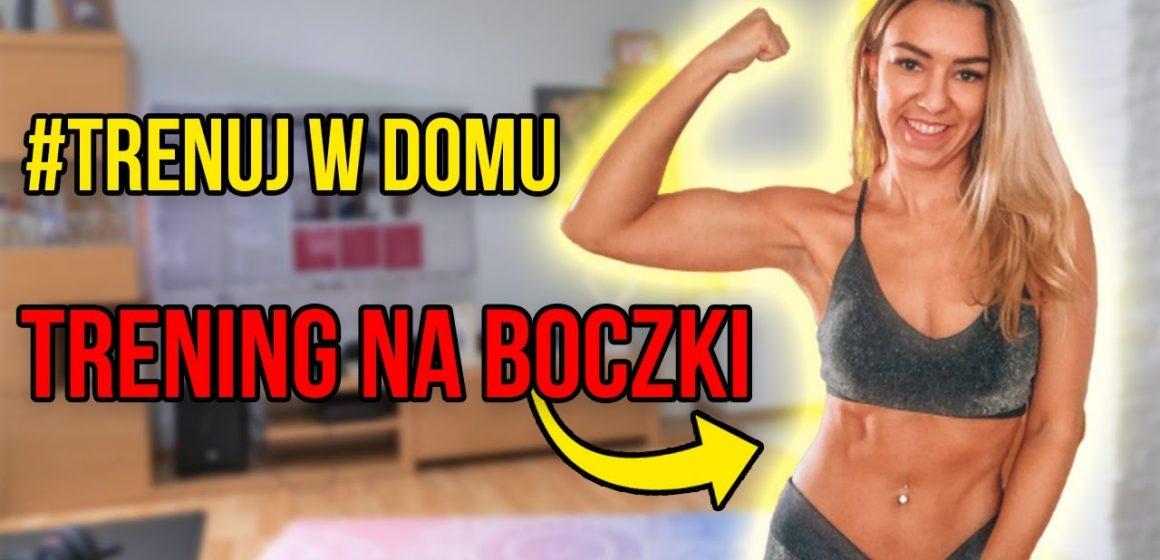Trening na boczki w domu – Marta Mróz (Fit Kobietka)
