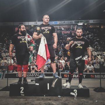 Ból silniejszy niż ambicje. Mateusz Kieliszkowski wycofał się ze startu w Mistrzostwach Świata Strongman!