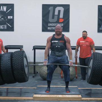 Wielki wynik na Shaw Classic. JF Caron nowym rekordzistą świata w konkurencji Hummer Tire Deadlift!