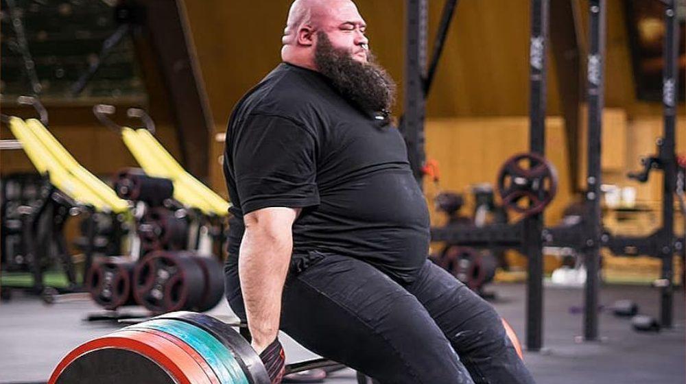 Niepełnosprawny strongman pobił rekord świata w martwym ciągu na siedząco o ponad 50 kilogramów!