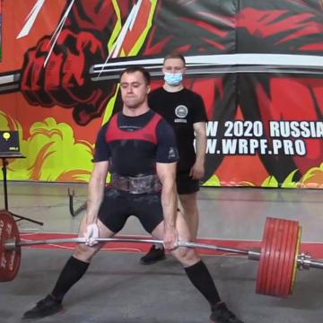 Ogromna determinacja przyniosła efekt. Dmitry Nasonov ustanowił nowe rekordy świata w martwym ciągu!