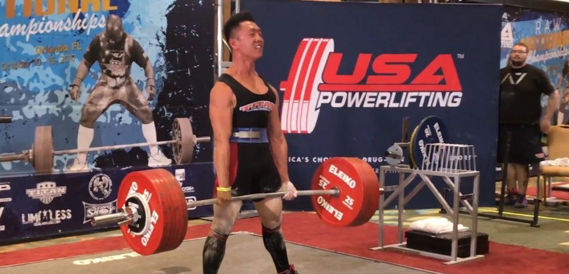 Co za progres! Yangsu Ren podniósł ciężar ważący 4,6 razy więcej niż on sam!