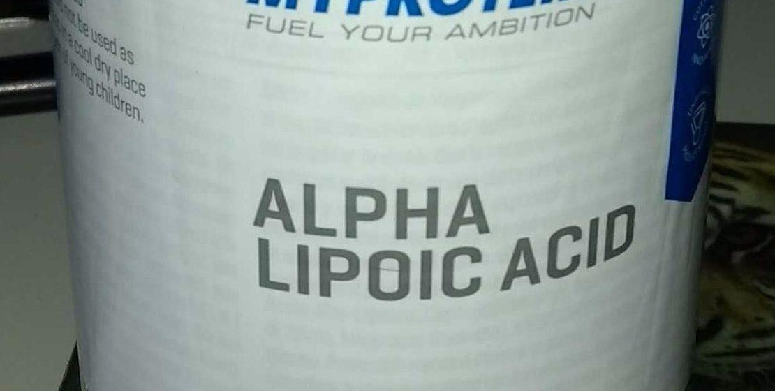 Kwas alfa liponowy (ALA) i jego zastosowanie w kulturystyce